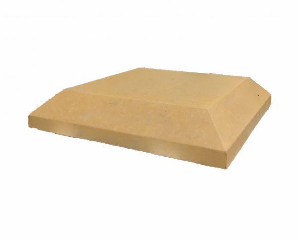 15-inch-chamfered-flat-pier-cap-sandstone