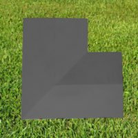 (Corner) Charcoal 11inch