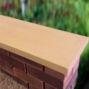 sandstone 11 inch twice weathered apex coping stones