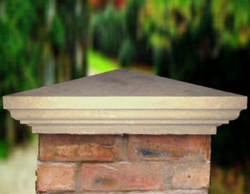 Sandstone - 18.5 inch Heritage Pier Caps