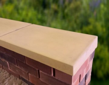 Sandstone Once Weathered Coping Stones