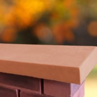 Terracotta 12 inch Once Weathered Coping Stones