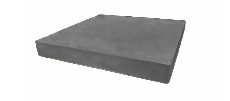 20 inch flat pillar caps charcoal