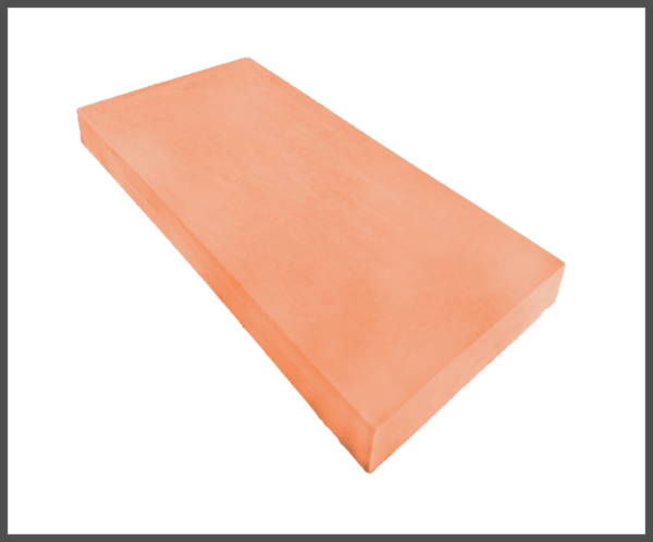 11 inch Flat Coping Terracotta