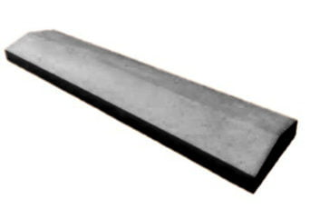 5.5 inch Twice-Weathered Apex Coping Stones Charcoal