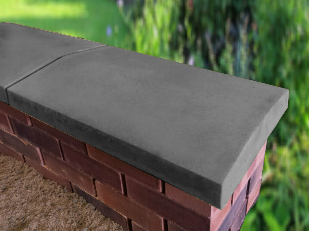 Charcoal 15 inch coping stones