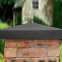 Charcoal-21 inch Traditional Pier Cap
