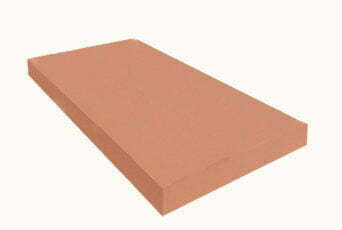 Terracotta 12 inch Flat Coping