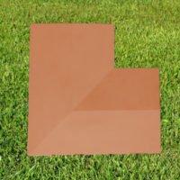 (Corner) Terracotta 11inch