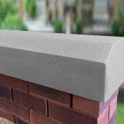 grey 7 inch deep victorian coping stones