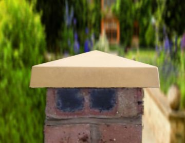 Sandstone 10 inch Traditional Pier Caps