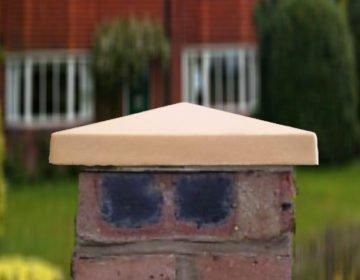 Sandstone - 10 inch Standard Apex Pier Caps