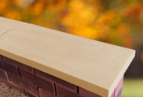 sandstone twice weathered apex coping stones