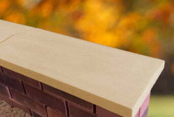 Sandstone 11 inch Twice Weathered Apex Coping Stone