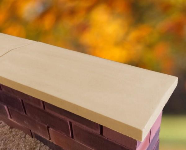 sandstone twice weathered apex coping stones