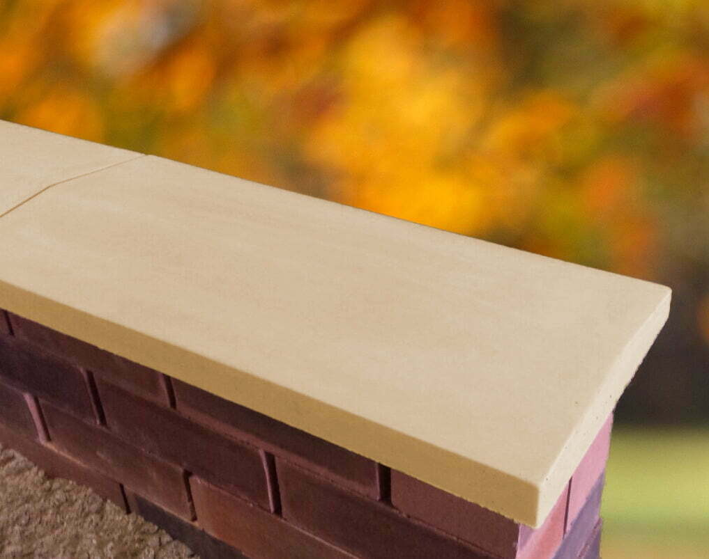 Twice Weathered Apex Coping Stones From Classical Creations