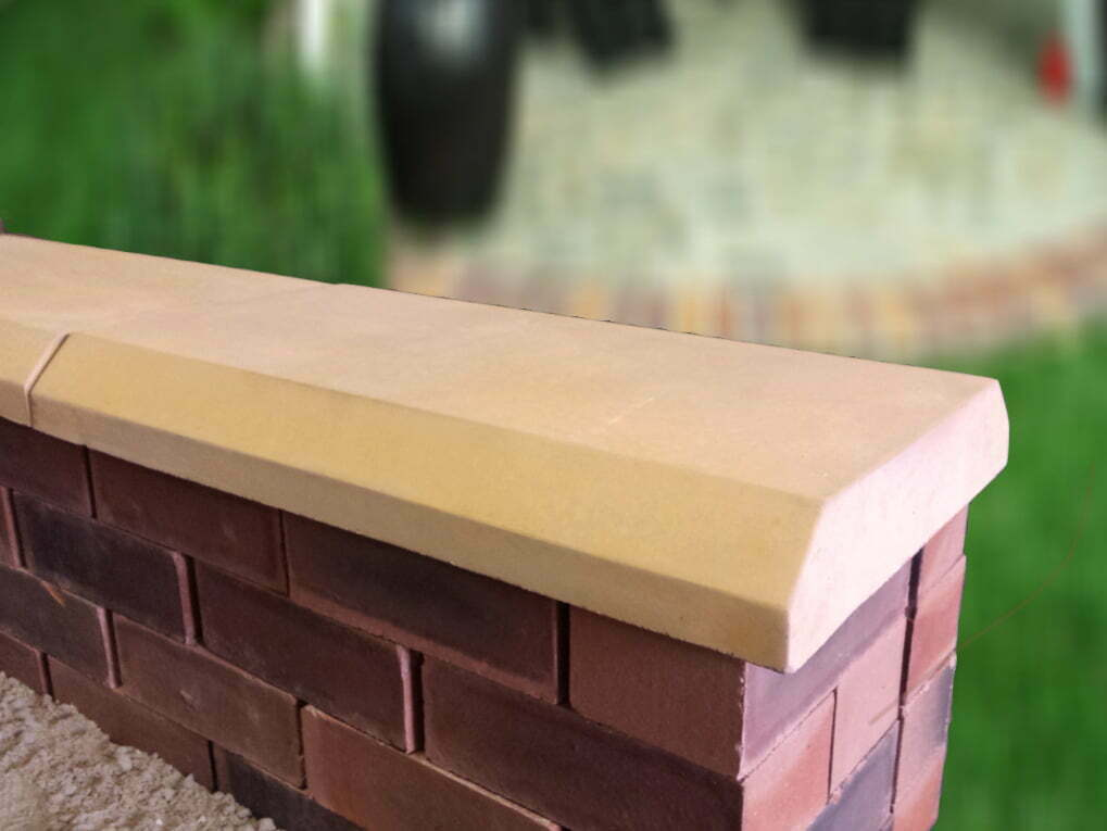Chamfered Flat Coping Stones Classical Creations