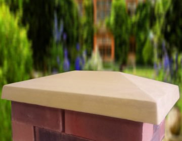 Sandstone-15x20 inch Traditional Pier Cap