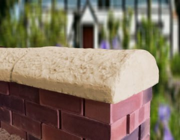 Sandstone 16inch Cottage Wall Coping