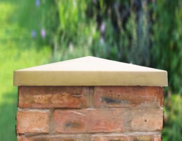 Sandstone -18 inch Traditional Pier Caps