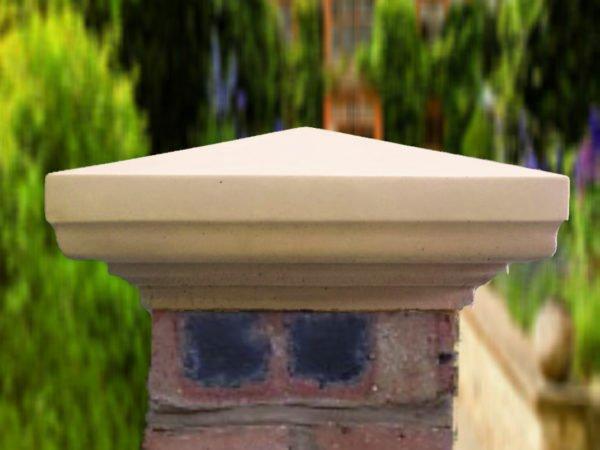 sandstone 9 inch heritage pier cap