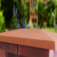 Terracotta-15x20 inch Traditional Pier Cap