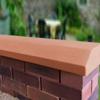 Terracotta 3inch Deep Victorian Coping