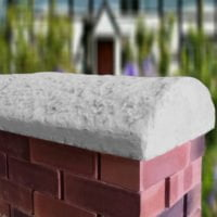 Grey 16inch Cottage Wall Coping