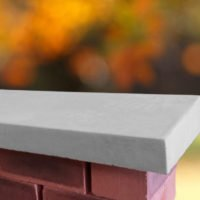 Grey 12 inch Wide Once Weathered Coping Stones