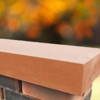 Terracotta 11 inch Flat Coping